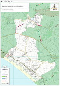 St John Parish Map